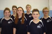 TOP SQUAD:  Some of the Burnley Bobcats swimmers who competed at Stockport Metro