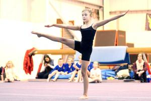 Young stars shine in BSSP gymnastics competition