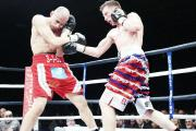 BELT: Shane Singleton defeated Curtis Woodhouse to win the English light welterweight title in March 2013
