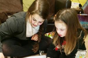 Barrowford pupils use items from home to create their own stories