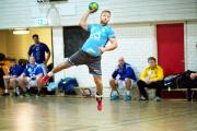 ON TARGET: Former Great Britain handball captain, Edenfield's Ciaran Williams, is now coaching in Norway and wants to coach his country in the future