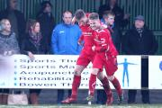 DELIGHT: Colne have had plenty of success recently having won 10 straight league games