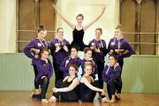 TRIP: Chantelle's Dance Academy took part in a competition at Disneyland Paris
