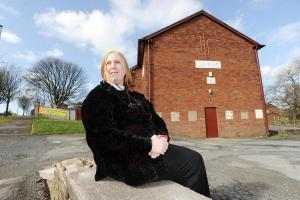 Church volunteer hit by 'gone in 30 seconds' raid