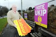 ANNOYED: Ukip's Ian Robinson said his wife was left upset and frightened by the incident outside their Great Harwood house