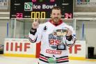 NUMBER ONE: Jared Owen will make his last appearance for Blackburn Hawks in the 25th anniversary game on Saturday
