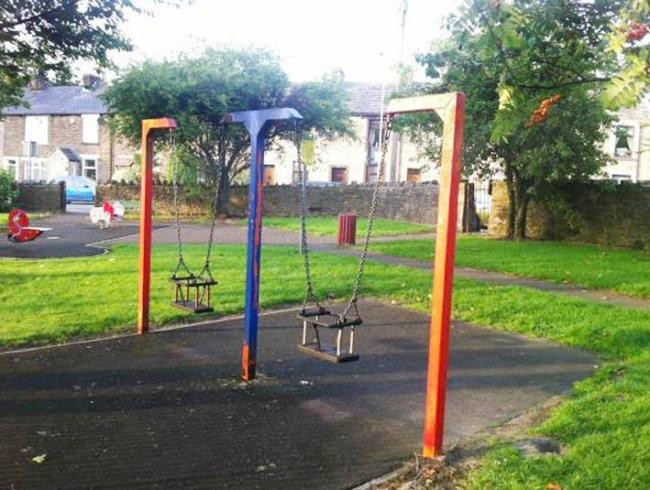 FAREWELL: Outdated equipment will be replaced as a new play area is prepared