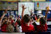 File photo dated 06/07/11 of children at school in Stockport raising their hands to answer a question as teachers should attempt to stop boys from dominating lessons, a union leader has suggested. PRESS ASSOCIATION Photo. Issue date: Friday September 13,