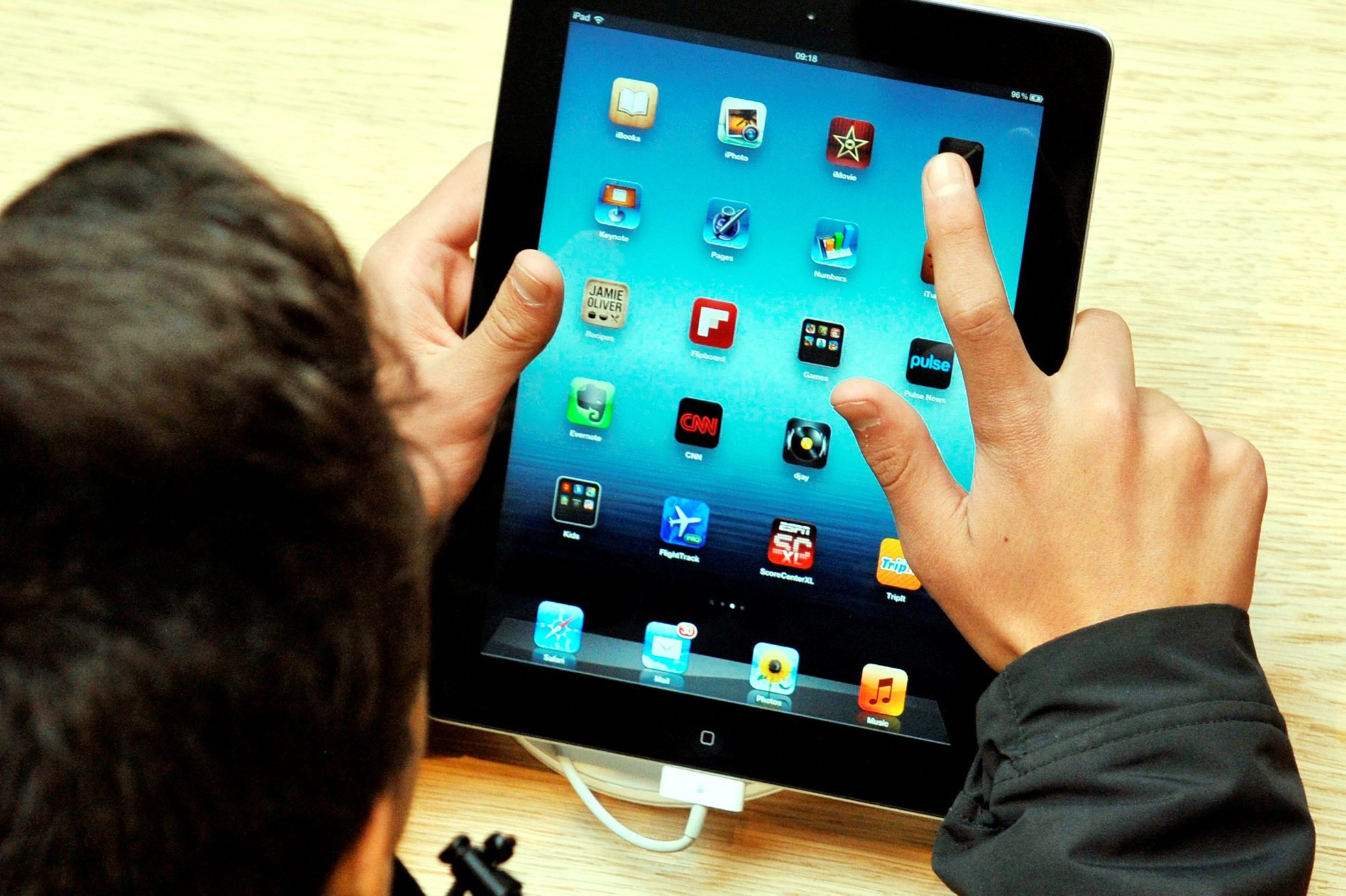 Parents are giving children iPads to keep them quiet