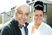 UNCERTAIN FUTURE: Glenda Carter married Ian Walsh in hospital last month. Ian has a brain tumour