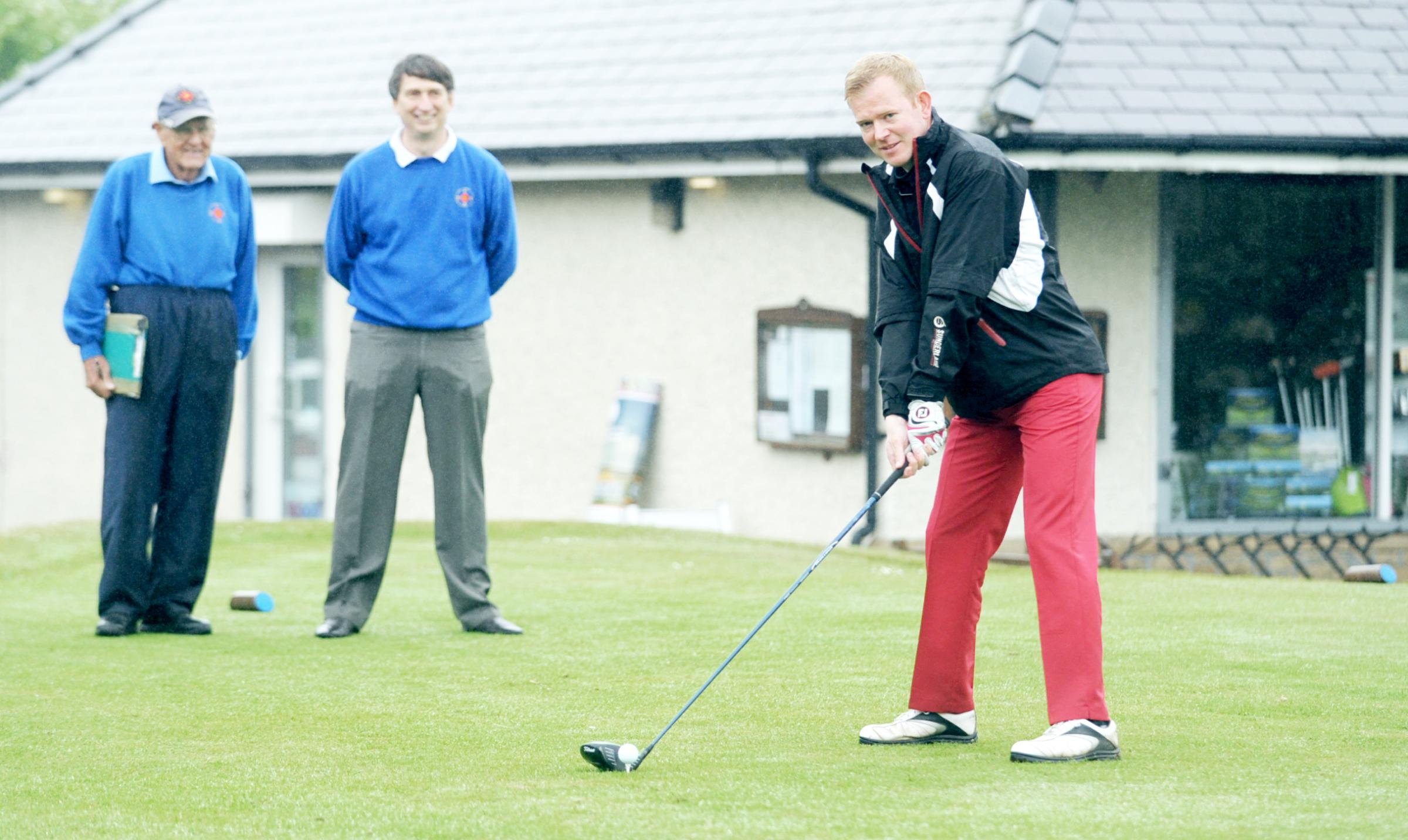 Harold Ryden trophy golf competition at Pleasington Golf Club