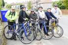 RIDING: The bicycle workshops have proved to be a hit since they started in Bacup