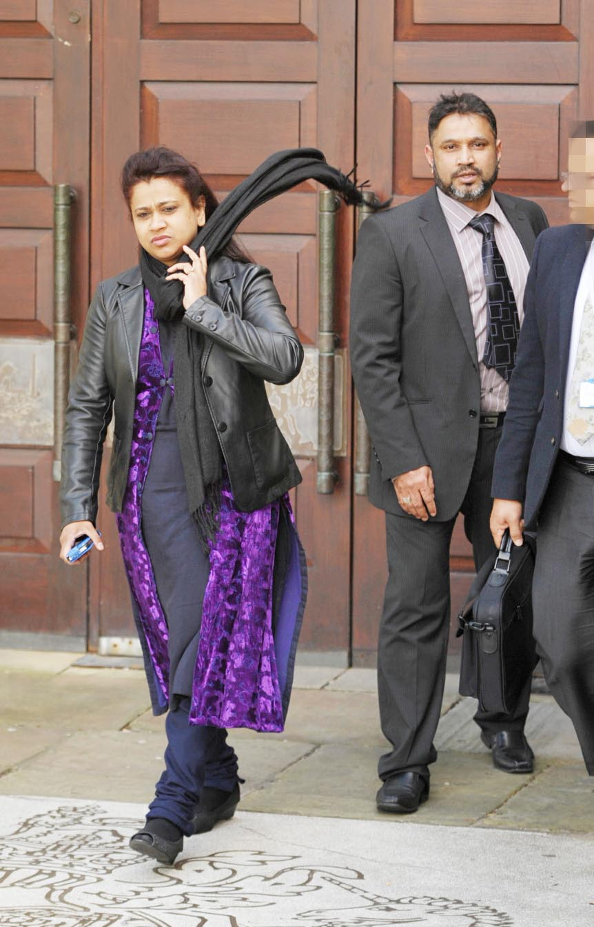 JAIL: Anwara and Shohidul Islam