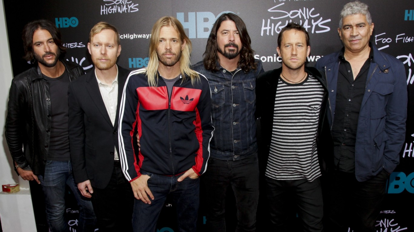 Foo Fighters announce rescheduled UK shows