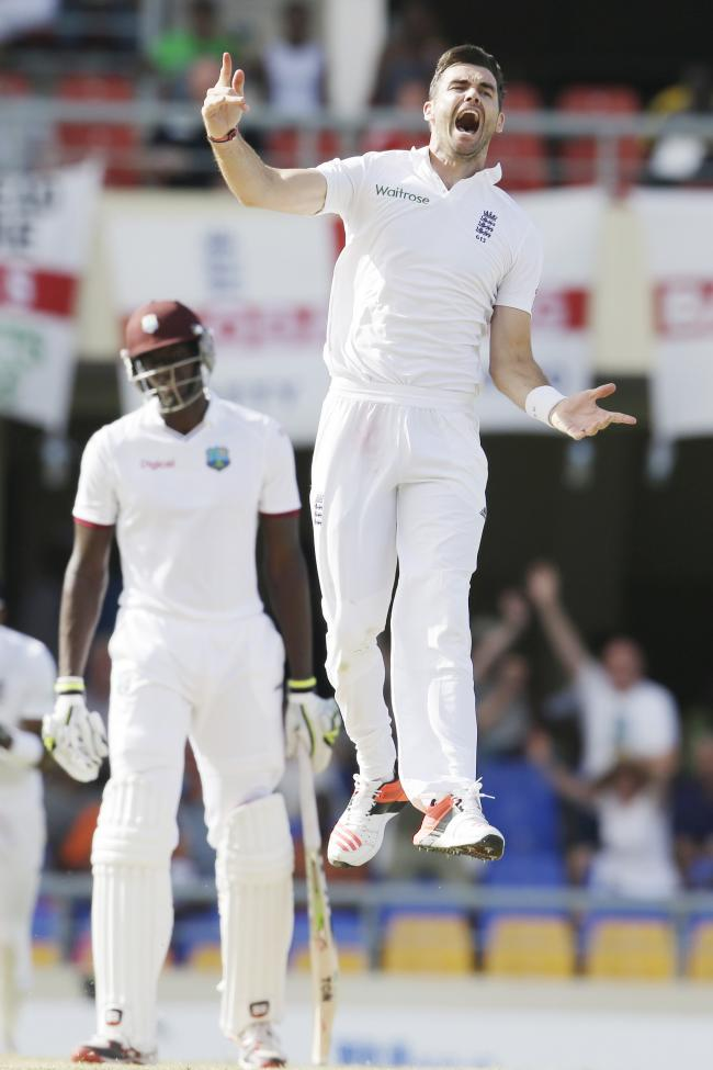 James Anderson is England's all-time wicket taker
