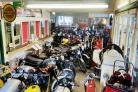 ON THE MARKET: Dale Winfield had a huge collection of motorbikes, many of which are going to be sold at auction