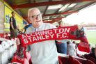 MOURNED: Les Pilkington 97 of Rishton, whose father was a founder of Accrington Stanley