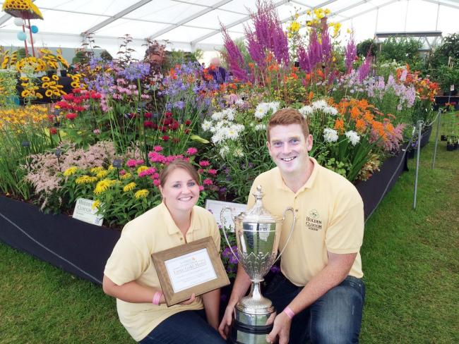 Fascinating Ribble Valley Nursery Wins Gold At Southport Flower Show From  With Heavenly Winners John Foley And Kate Lawson Of Holden Clough Nursery With Their  Winners Trophy With Amusing Rio De Janeiro Botanical Garden Also What Is An Evolution Room At Hilton Garden Inn In Addition Stable Manure For The Garden And Ayletts Garden Centre As Well As Garden Cabins Cheap Additionally Ebay Garden Hose From Lancashiretelegraphcouk With   Heavenly Ribble Valley Nursery Wins Gold At Southport Flower Show From  With Amusing Winners John Foley And Kate Lawson Of Holden Clough Nursery With Their  Winners Trophy And Fascinating Rio De Janeiro Botanical Garden Also What Is An Evolution Room At Hilton Garden Inn In Addition Stable Manure For The Garden From Lancashiretelegraphcouk
