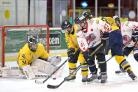 ON THE ATTACK: Blackburn Hawks were 5-0 winners against Sutton Sting on Sunday evening Pictures: KIPAX