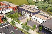 VISION: An artist's impression of the new grammar school in Sevenoaks