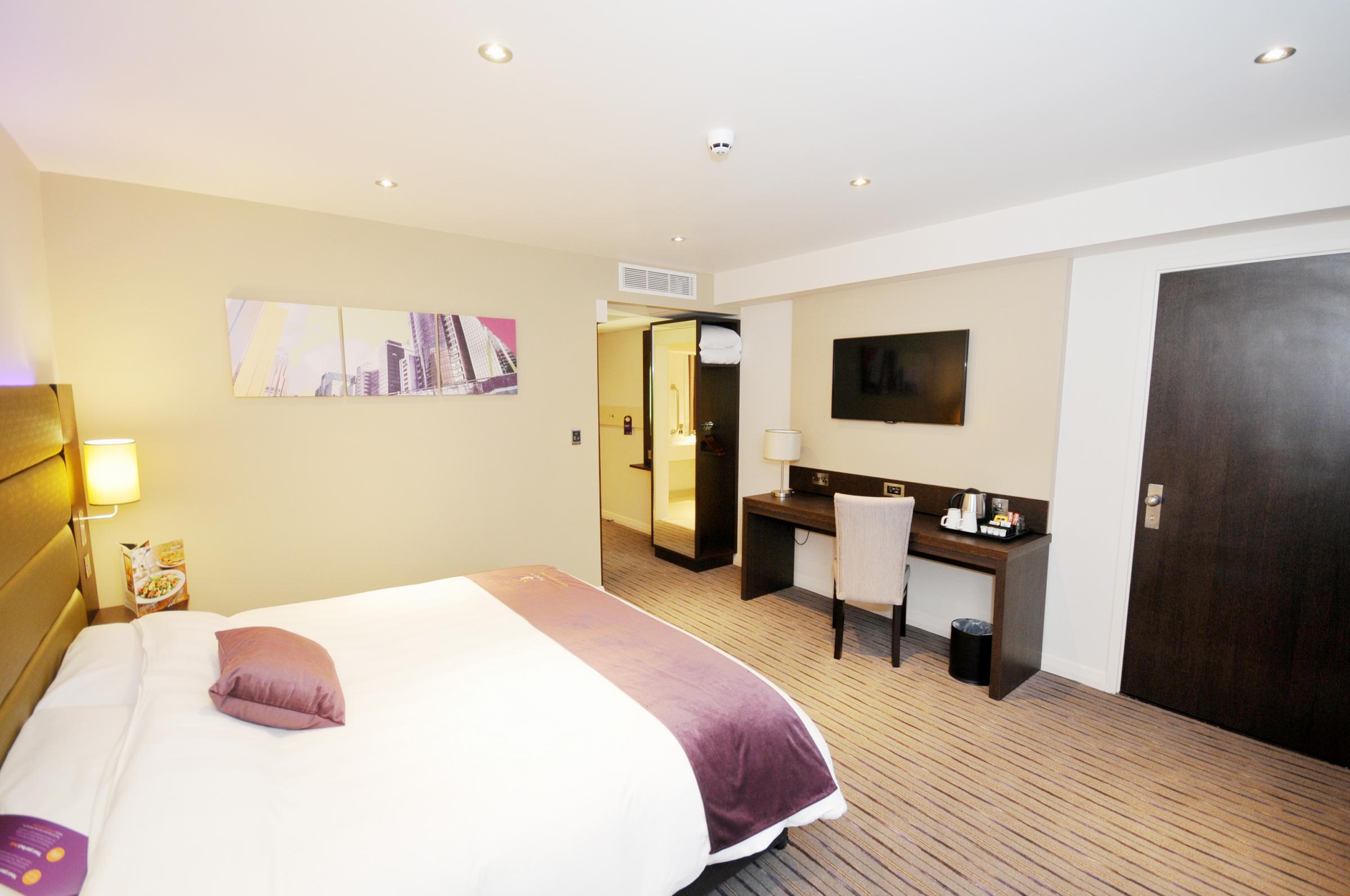 OPEN FOR BUSINESS: Take a look inside Blackburn's brand new £3m Premier Inn hotel...