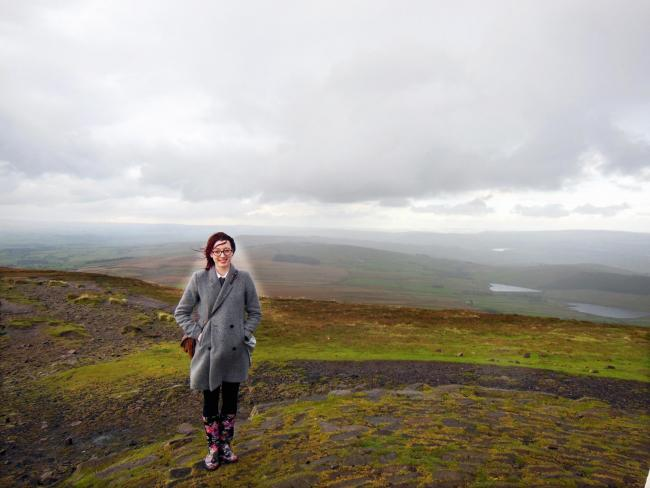 PAMPHLET: Poet Camille Ralphs on Pendle Hill
