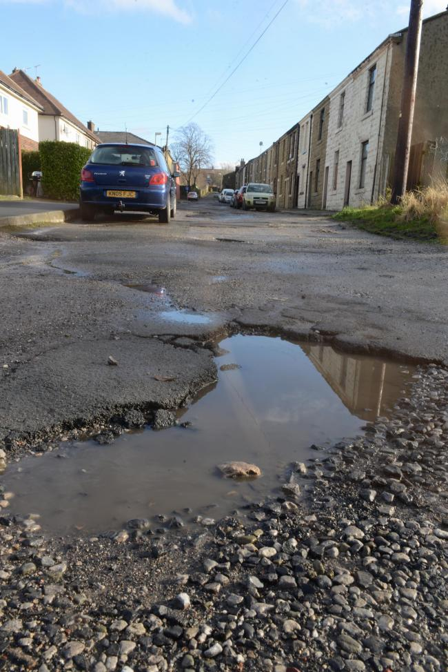 POTHOLE: New roadworks aim to smooth the way, providing better surfaces for drivers