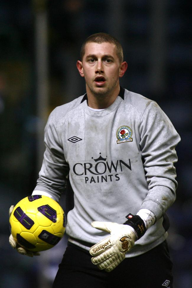 Frank Fielding in his Rovers days
