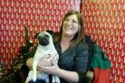 Owner reunited with stolen pug