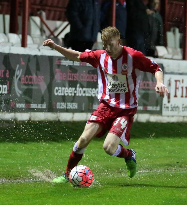 DONE DEAL: Brad Halliday has extended his loan spell at Accrington Stanley