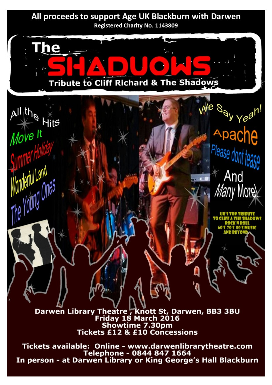 Shaduows - Shadows and Cliff Richard tribute concert