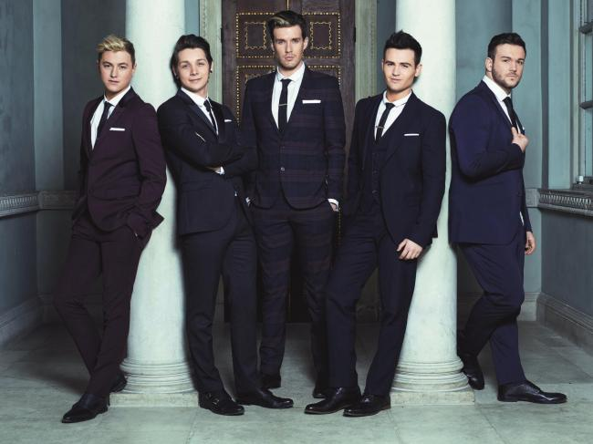 ON SONG: Britain's Got Talent winners Collabro