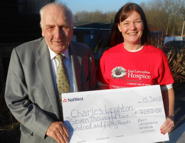 Blackburn lottery winner to donate winnings to charity - after buying himself a new overcoat�