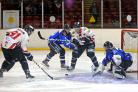 ON THE ATTACK: Blackburn Hawks look to make a breakthrough against Sheffield