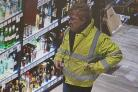 Police wish to speak to this man about the theft of expensve whisky and vodka (54855401)