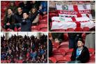 Rovers fans were in good voice at the Riverside