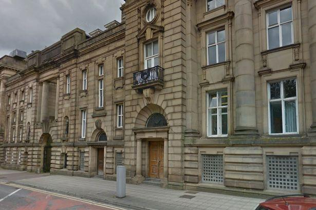 Blackburn magistrates heard Yasin Hussain Shah punched his mum in the face