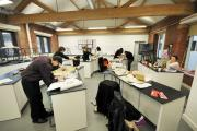 LEARNING: Youngsters at work at Darwen Enterprise Studio's science room