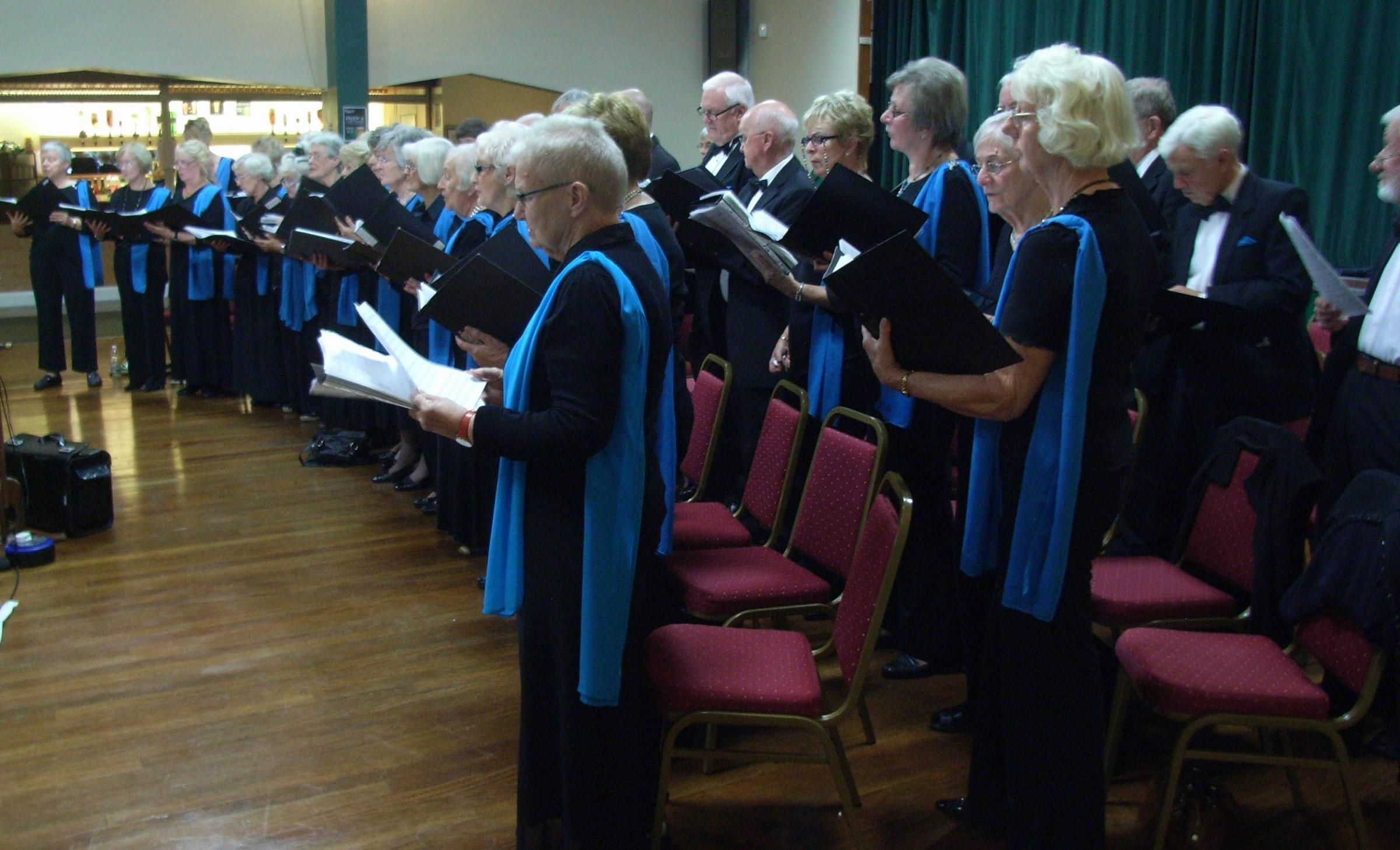 Welcome to Spring with the June Baker Singers