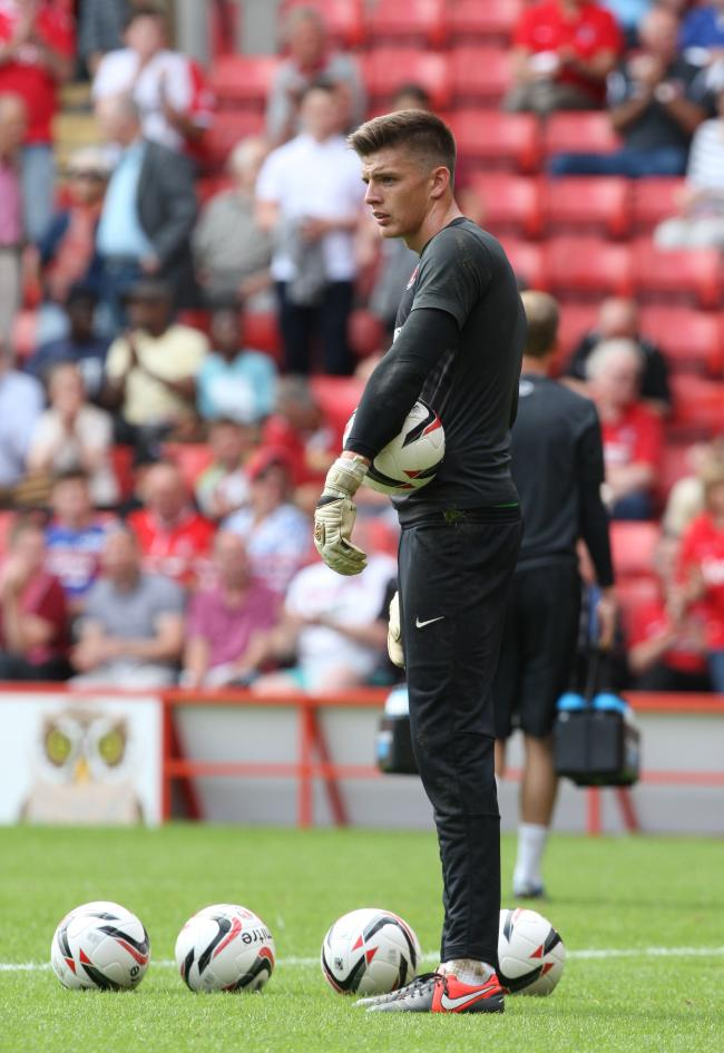 IN DEMAND: Burnley are keen to sign promising young Charlton Athletic goalkeeper Nick Pope as a back up to Clarets number one Tom Heaton