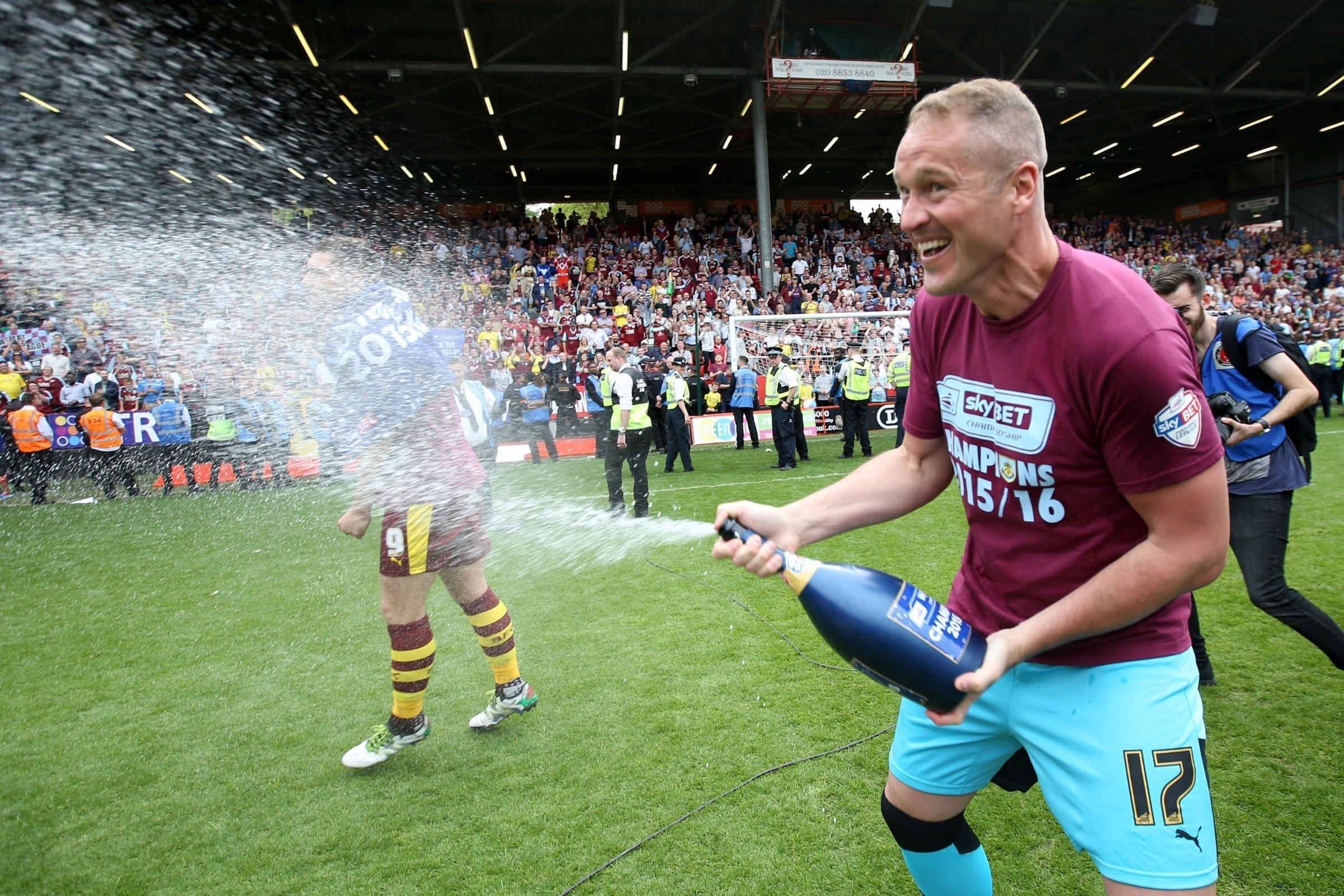 STAYING ON: Paul Robinson has been offered a new contract to stay at Burnley for next season