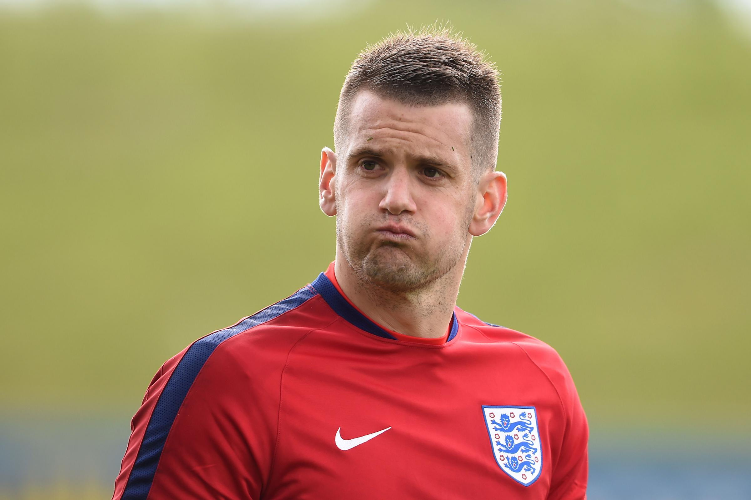 DEBUT: Tom Heaton made his England debut and became the first Burnley player to play for England since 1974