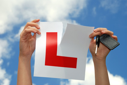 PASSED: A learner finally gets to rip up the L plates