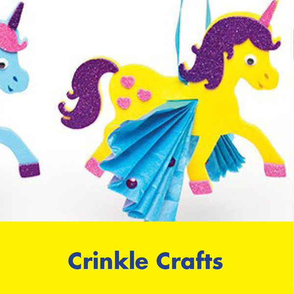 Kids Summer Events – Crinkle Crafts