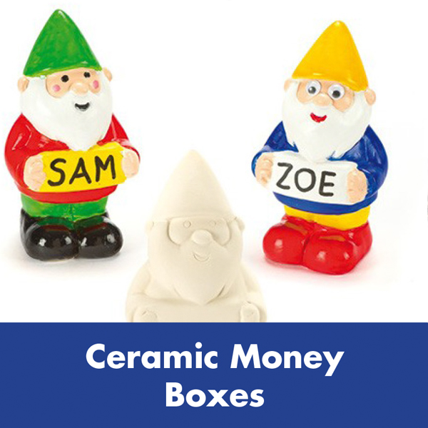 Kids Summer Events – Ceramic Money Boxes
