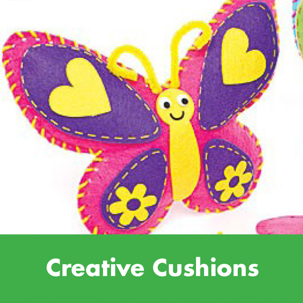 Kids Summer Events – Creative Cushions