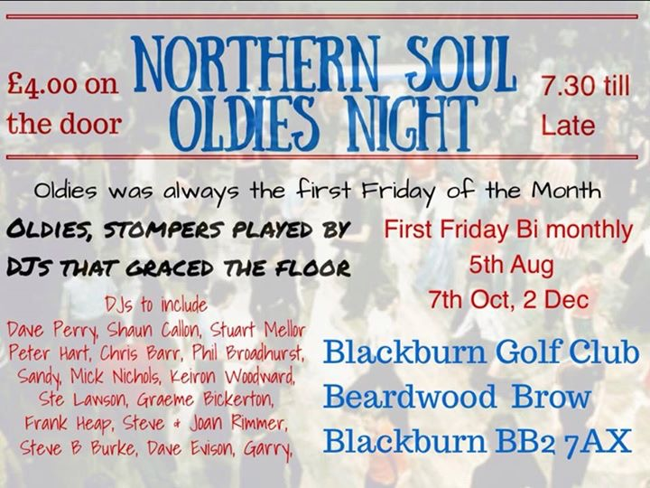 Northern Soul Oldies Night