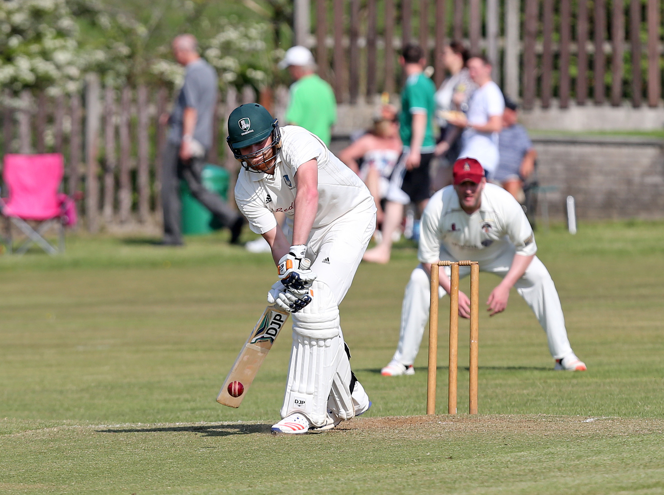 SUCCESS: Church captain Levi Wolfenden is aiming to lead his side into the final against Todmorden