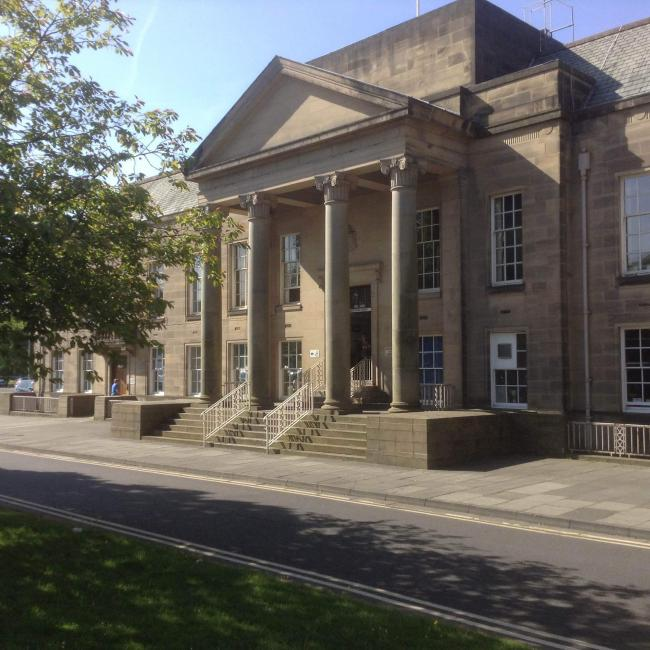 Magistrates' court, Burnley.
