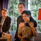 Lancashire Telegraph: Cold Feet couple Adam and Angela are on the rocks, and fans can't bear it
